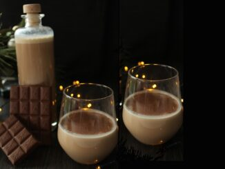 Čokoládový likér.