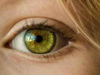 Zelené oko.