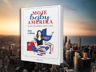Kniha, moje bejby Amerika.
