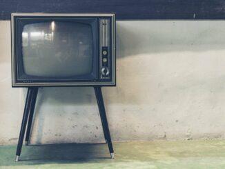 Stará televize.