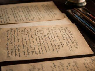 Staré dopisy.