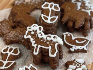Skořicové sušenky.
