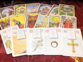 Tarotové karty.