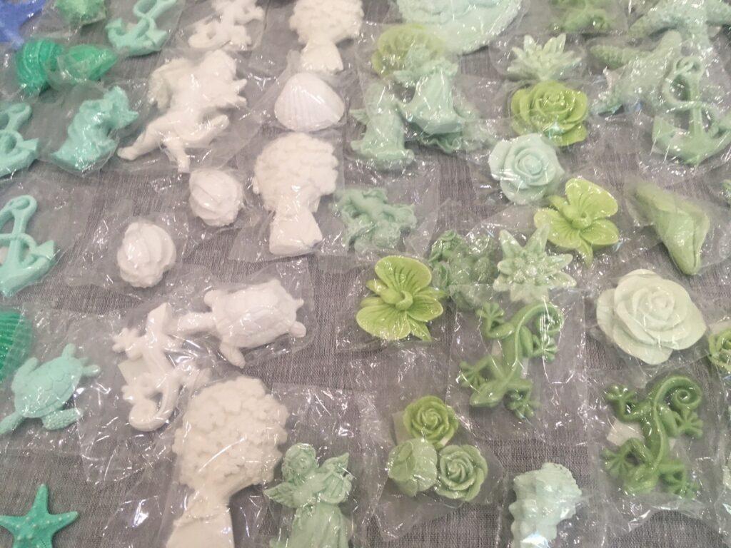 Vonná keramika.