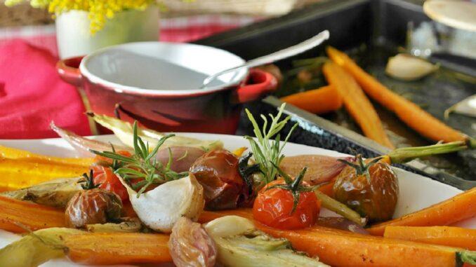Grilovaná zelenina.