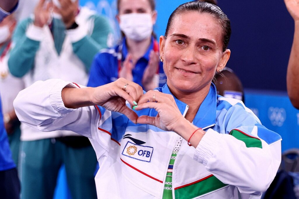 Oksana Chusovitina.