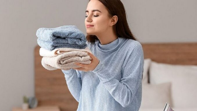 Voňavé ručníky.